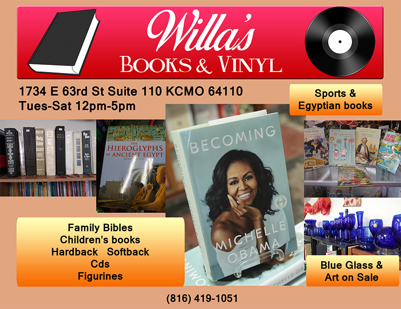 Willa's Books and Vinyl SALE